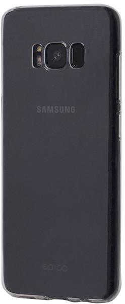 EPICO RONNY GLOSS pružný plastový kryt pro Samsung Galaxy S8 - bílý transparentní