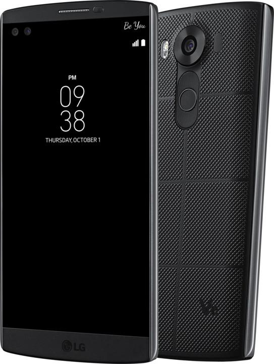 LG V10, černá