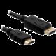 DeLock DisplayPort samec na HDMI samec, délka 1m