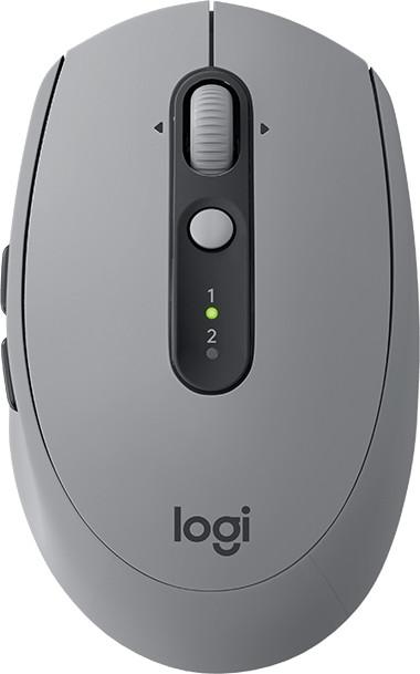 Logitech M590 Silent, šedá