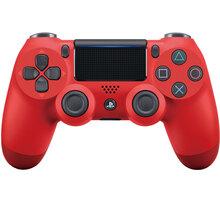 Sony PS4 DualShock 4 v2, červený - PS719814153