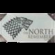 Zarámovaný plakát Game of Thrones - The North Remembers