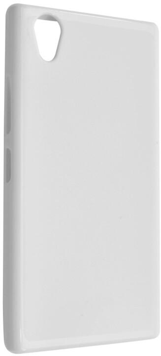 FIXED gelové pouzdro pro Lenovo P70, bílá