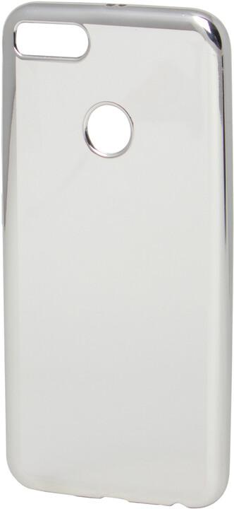 EPICO pružný plastový kryt pro Xiaomi Mi A1 EPICO BRIGHT - stříbrný