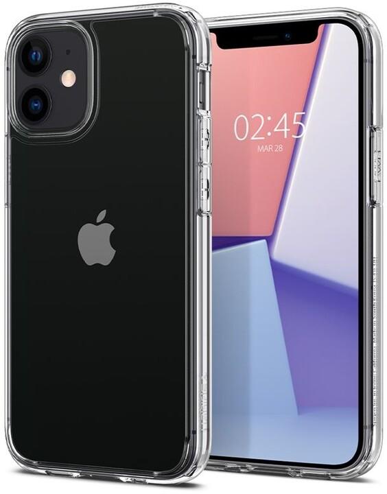 Spigen ochranný kryt Ultra Hybrid pro iPhone 12 mini, transparentní