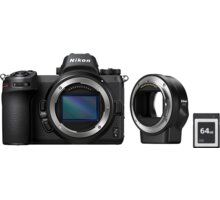 Nikon Z6 + FTZ adapter + 64GB XQD karta - VOA020K008