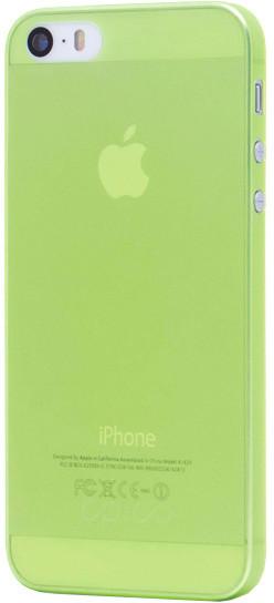 EPICO Plastový kryt pro iPhone 5/5S/SE TWIGGY MATT - zelený