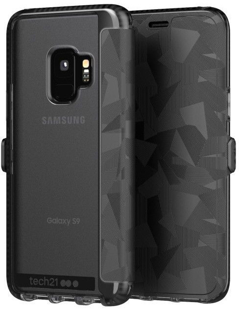 Tech21 Evo Wallet Samsung Galaxy S9, černá