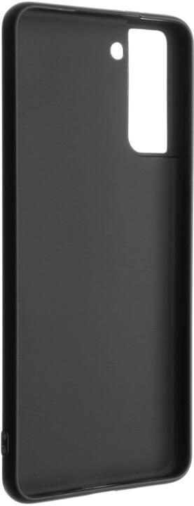 FIXED pogumovaný kryt Story pro Samsung Galaxy S21+, černá