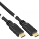 PremiumCord HDMI High Speed with Ether.4K@60Hz kabel se zesilovačem,25m