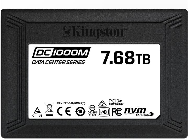 Kingston DC1000M, U.2 - 7,68TB