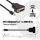 Club3D Mini DisplayPort 1.1 na DVI-D, single link, pasivní adaptér, 17cm