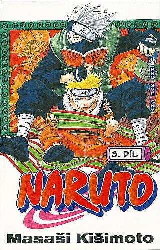 Komiks Naruto: Pro své sny, 3.díl, manga