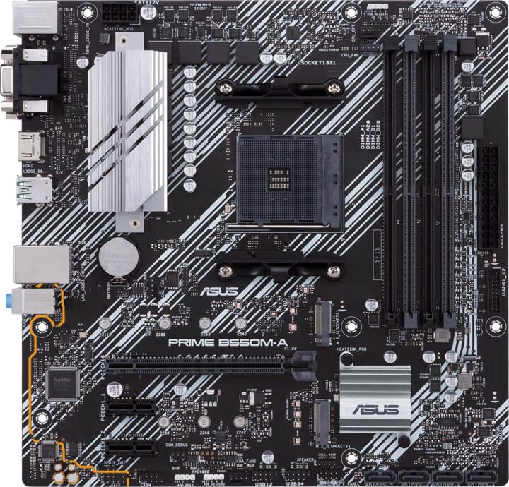 ASUS PRIME B550M-A - AMD B550