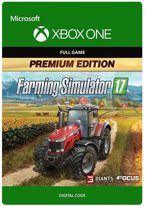 Farming Simulator 17: Premium Edition (Xbox ONE) - elektronicky