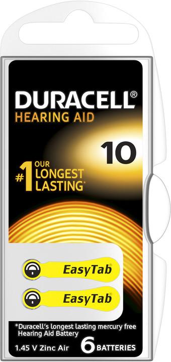 Duracell Hearing Aid - DA10 Duralock