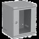 Solarix 6U, RAL 7035, skleněné dveře
