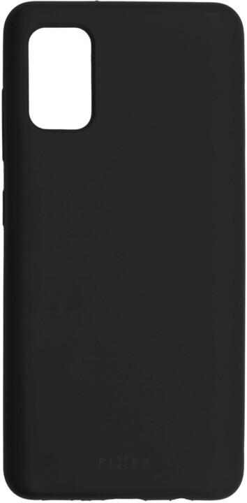 FIXED silikonový kryt Flow pro Samsung Galaxy A41, černá
