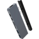 HYPERDRIVE DUO 7 v 2 USB-C Hub pro MacBook Pro/Air, šedá