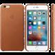 Apple iPhone 6s Plus Leather Case, hnědá