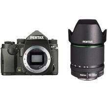 Pentax KP + DA 18-135mm WR, černá - 1601701