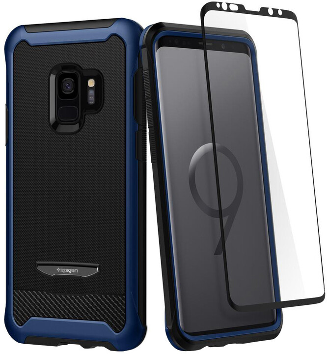 Spigen Reventon pro Samsung Galaxy S9, metallic blue
