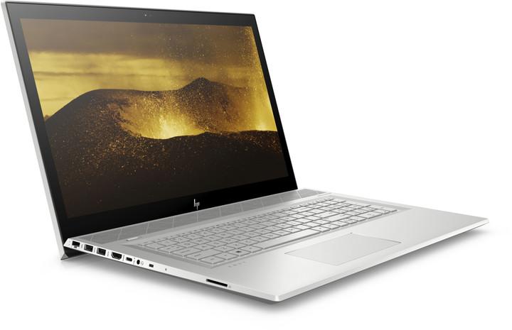 HP Envy 17-bw0008nc, stříbrná