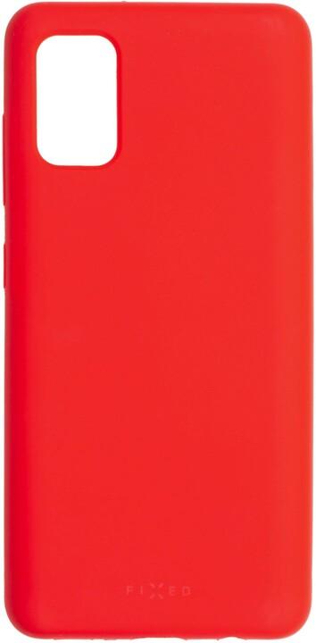 FIXED silikonový kryt Flow pro Samsung Galaxy A41, červená