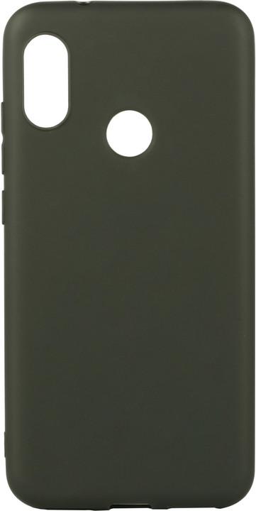 EPICO Pružný plastový kryt pro Xiaomi Mi A2 Lite SILK MATT, černá