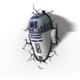 3D světlo Star Wars - R2D2