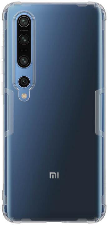Nillkin pouzdro Nature TPU pro Xiaomi Mi 10/10 Pro, šedá