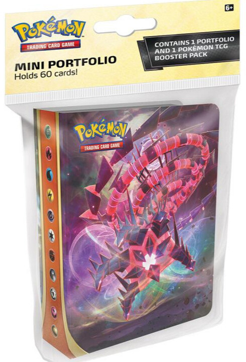 Karetní hra Pokémon TCG: Sword and Shield Darkness Ablaze - Mini Album + booster (10 karet)