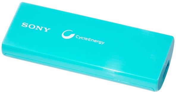 Sony CP-V3L přenosný zdroj USB, modrá, 2800mAh