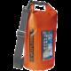 """CELLY voděodolný vak Explorer 5L s kapsou na telefon do 6,2"""", oranžový  + Voucher až na 3 měsíce HBO GO jako dárek (max 1 ks na objednávku)"""