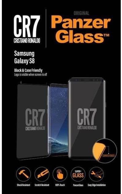 PanzerGlass Samsung S8 Black Case Friendly CR7