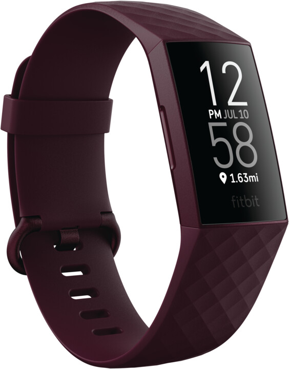 Fitbit Charge 4, NFC, Rosewood / Rosewood