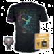 Set Fortnite - Omega figurka POP! a pánské tričko (L)