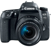 Canon EOS 77D + 18-55mm IS STM - 1892C017 + Trenýrky se vzorem - velikost L v hodnotě 259 Kč