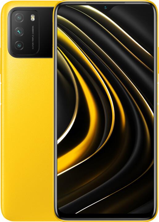 Xiaomi POCO M3, 4GB/64GB, Poco Yellow