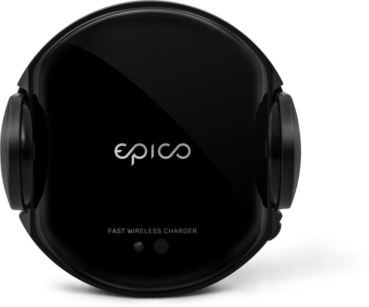 EPICO Wireless charging sensor car holder 15W/10W/7.5W/5W, černý