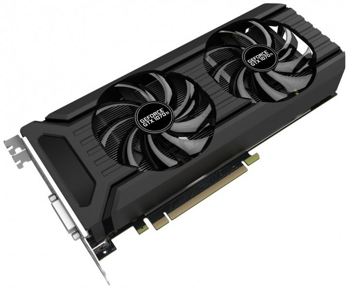 PALiT GeForce GTX 1070 Ti Dual, 8GB GDDR5