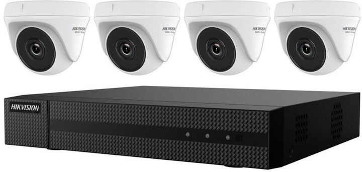 Hikvision HiWatch HWK-T4144TH-MH - HWD-6104MH-G2(B) + 4xHWT-T140
