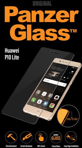 PanzerGlass Edge-to-Edge pro Huawei P10 Lite, čiré