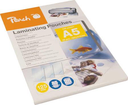 Peach laminovací fólie A5, 125mic, 25ks