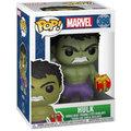 Figurka Funko POP! Bobble-Head Marvel - Holiday Hulk with Stockings & Plush