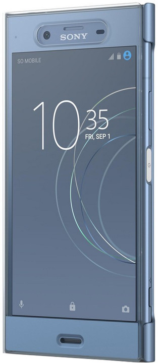 Sony Touch Style Cover Pouzdro SCTG50 pro Xperia XZ1, modrá