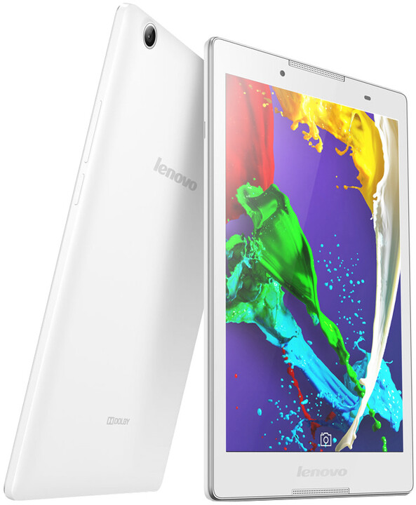 """Lenovo IdeaTab 2 A8-50 8"""" - 16GB, bílá"""