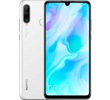 Huawei P30 Lite, 4GB/128GB, bílá  + Bezdrátový reproduktor Huawei CM51, šedá v ceně 1899 Kč + Při nákupu nad 500 Kč Kuki TV na 2 měsíce zdarma vč. seriálů v hodnotě 930 Kč