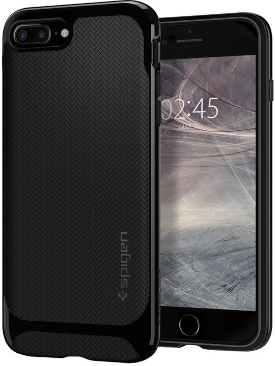 Spigen Neo Hybrid Herringbone pro iPhone 7 Plus/8 Plus, shiny black