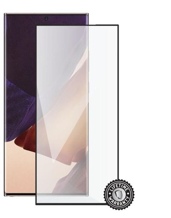 Screenshield ochrana displeje Tempered Glass pro Samsung Galaxy Note 20 Ultra, Full Cover,černá 0.26mm